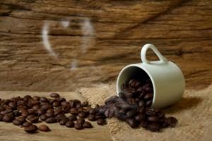 barra de cafe humo